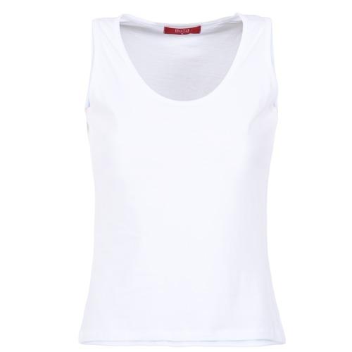 Abbigliamento Donna Top / T-shirt senza maniche BOTD EDEBALA Bianco