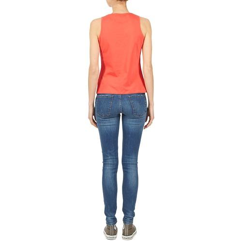 Gratuita Consegna Botd Edebala Arancio Abbigliamento shirt TopT Maniche Donna 720 Senza 2EHeDIW9Yb