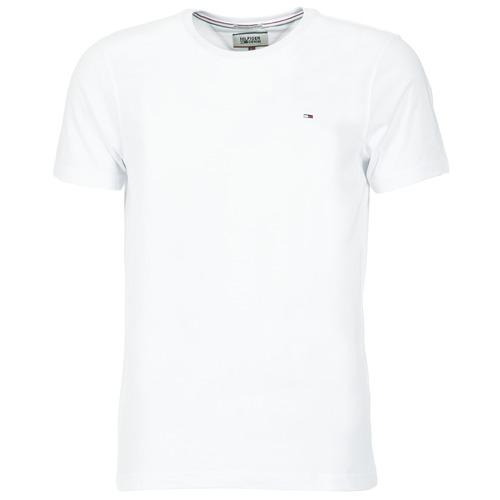 Abbigliamento Uomo T-shirt maniche corte Tommy Jeans OFLEKI Bianco
