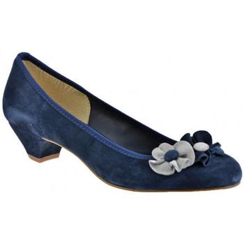 Scarpe Donna Décolleté Keys BallerinaTacco30Decoltè blu