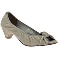 Scarpe Donna Décolleté Progetto Ballerina Tacco 40 Decoltè grigio