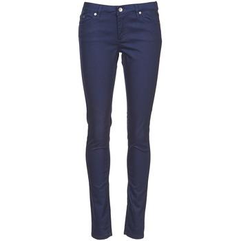 Abbigliamento Donna Pantaloni 5 tasche Element STICKER Blu