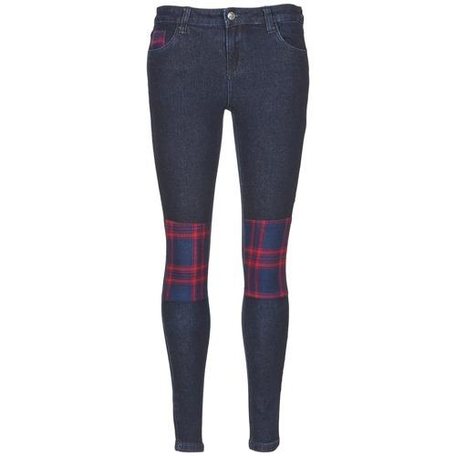 Abbigliamento Donna Jeans slim American Retro LOU Blu