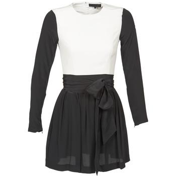 Abbigliamento Donna Abiti corti American Retro STANLEY Nero / Bianco