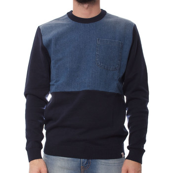 Maglione Jack   Jones  Denim Knit Crew Neck