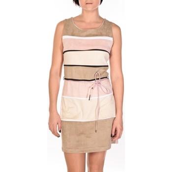 Abbigliamento Donna Abiti corti Dress Code Robe Torino beige/rose/crème Multicolore