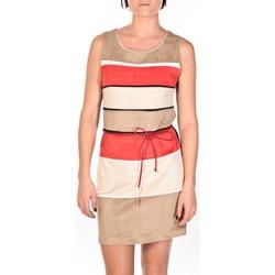 Abbigliamento Donna Abiti corti Dress Code Robe Torino beige/rouge/crème Multicolore