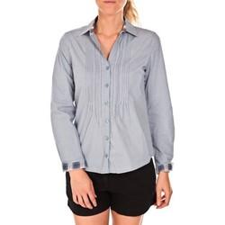 Abbigliamento Donna Camicie Tom Tailor Chemise Beatrix Bleue Blu