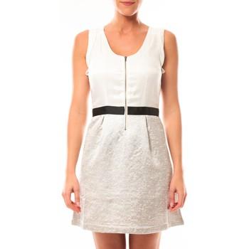 Abbigliamento Donna Abiti corti Vero Moda Nella S/L Short Dress 10107365 Blanc/Beige Beige