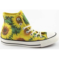 Scarpe Donna Sneakers alte Converse 552727C yellow giallo star player all star hi fiori girasole fl Giallo