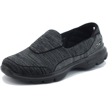 Scarpe Skechers  Mocassini  GoWalk 3 per donna in tessuto nero