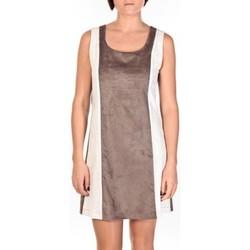 Abbigliamento Donna Abiti corti Dress Code Robe Venetie blanc/marron Marrone