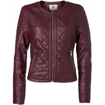 Sanna Short PU Jacket 10113310 Lie ...