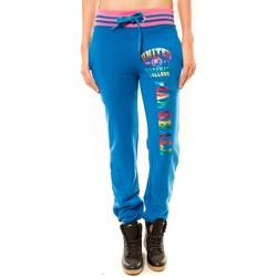 Abbigliamento Donna Pantaloni da tuta Sweet Company Jogging United Marshall College Bleu/Rose Multicolore