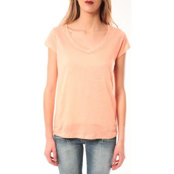 Abbigliamento Donna T-shirt maniche corte Little Marcel T-Shirt Talin E15FTSS0116 Corail Pastel Arancio