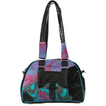 Borse Donna Borse a mano Bamboo's Fashion Sac à main Miami GN-145 Bleu/Violet Multicolore