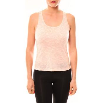 Abbigliamento Donna Top / T-shirt senza maniche Meisïe Débardeur 50-502SP15 Corail Arancio