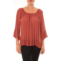 Abbigliamento Donna Top / Blusa By La Vitrine Blouse Giulia brique Arancio