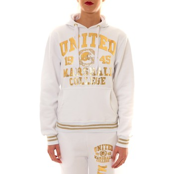 Abbigliamento Donna Felpe Sweet Company Sweat United Marshall 1945 blanc/or Oro