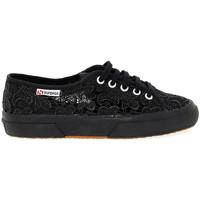 Scarpe Donna Sneakers basse Superga Sneakers  MACRAMEW nero