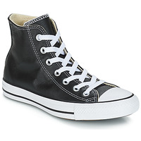 Scarpe Sneakers alte Converse Chuck Taylor All Star CORE LEATHER HI Nero