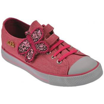 Scarpe Bambina Sneakers basse Lulu Butterfly Sportive basse fuxia