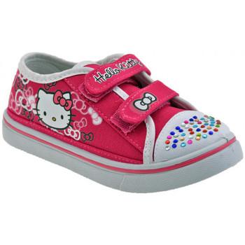 Scarpe bambini Hello Kitty  Velcro Strass Girl Sportive basse
