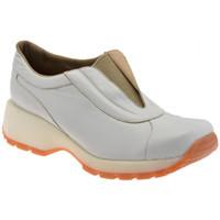 Scarpe Donna Sneakers alte Bocci 1926 SlipOnWalkZeppa panna