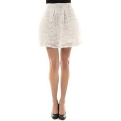 Abbigliamento Donna Gonne Vera & Lucy Jupe brodée Blanc J303 Bianco