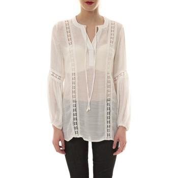 Abbigliamento Donna Tuniche Comme Des Filles Tunique blanche TU 202 Bianco