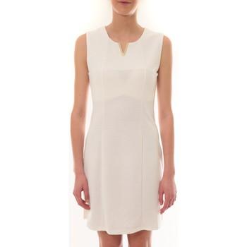 Abbigliamento Donna Abiti corti Vera & Lucy Robe sans manches Blanc R6236 Bianco