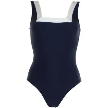Abbigliamento Donna Costume intero Janine Robin 991272-18 Blu