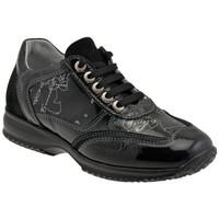 Scarpe Unisex bambino Sneakers alte Alviero Martini Sneakers Casual nero