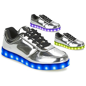 Scarpe Donna Sneakers basse Wize & Ope THE LIGHT Argento