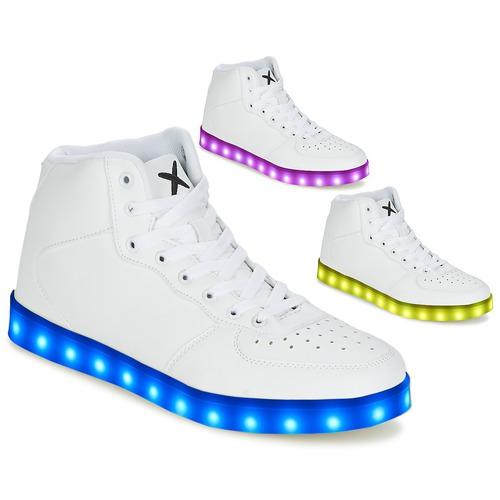 Wize & Ope THE HI TOP Bianco  Scarpe Sneakers alte Uomo 107,40