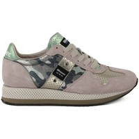 Scarpe Donna Sneakers basse Blauer RUNNING CAMOUFLAGE Multicolore