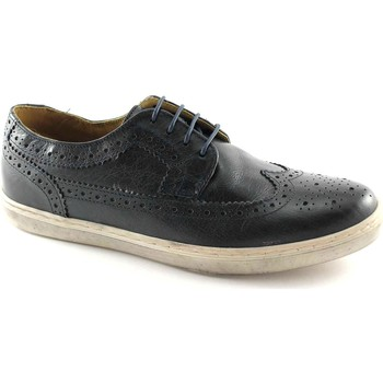 Scarpe Base London  EMPRESS P09400 navy scarpe uomo senakers inglese