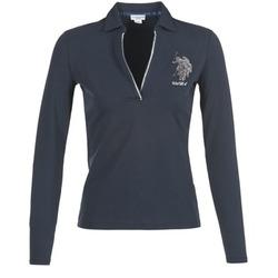 Abbigliamento Donna Polo maniche lunghe U.S Polo Assn. CRISTINE MARINE