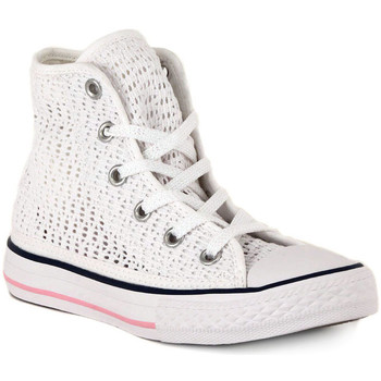 Scarpe Sneakers alte Converse ALL STAR HI   TINY CROCHET