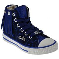 Scarpe Bambino Sneakers alte Lulu Frangetta Lace Sportive alte multicolore