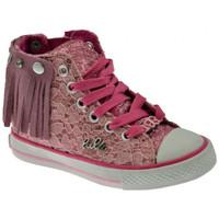 Scarpe Bambina Sneakers alte Lulu FrangettaLaceSportivealteSportivealte Sportive alte rosa