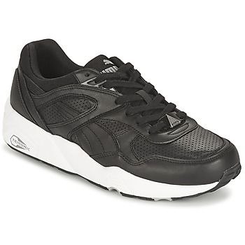 Scarpe Uomo Sneakers basse Puma R698 CORE LEATHER Nero