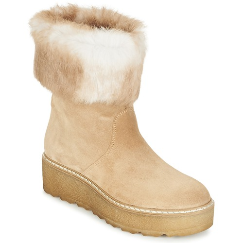 Nome Footwear MOVETTA Beige Scarpe Stivaletti Donna 123,00