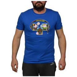 Abbigliamento Uomo T-shirt maniche corte Faccine DJ Set T-shirt multicolore
