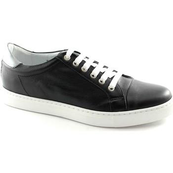Scarpe Caf㨠Noir  PG124 nero  scarpe uomo sheakers pelle lacci