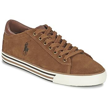 Scarpe Uomo Sneakers basse Ralph Lauren HARVEY Cognac