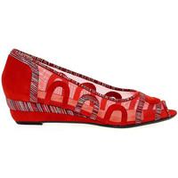 Scarpe Donna Sandali Martina Scarpa con tacco  15008 rosso