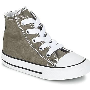 Scarpe Bambino Sneakers alte Converse CHUCK TAYLOR ALL STAR CORE HI Antracite
