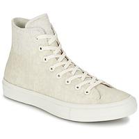 Scarpe Sneakers alte Converse CHUCK TAYLOR ALL STAR II  CAOUTCHOUC HI Beige