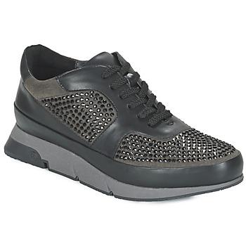 Scarpe Donna Sneakers basse Luciano Barachini OXFORD Nero / Grigio
